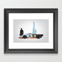 Outline Series N.º4, St… Framed Art Print