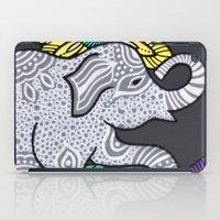 Zen Elephant iPad Case