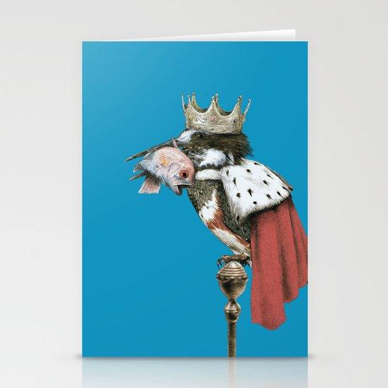 Kingfisher (Blue Option) Stationery Card