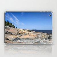 The Schoodic View Of Mai… Laptop & iPad Skin