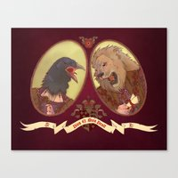 Henry and Anne Canvas Print