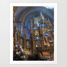 Notre-Dame Montreal Art Print