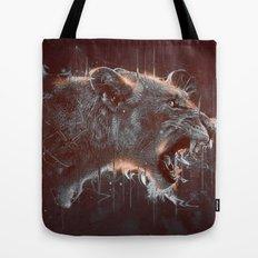 DARK LION Tote Bag