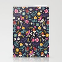 Ditsy Flowers Stationery Cards