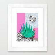 Dag - Throwback Memphis … Framed Art Print