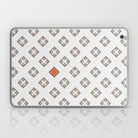 Orange in the city Laptop & iPad Skin