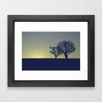 01 - Landscape Framed Art Print
