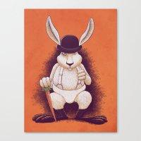 A Clocwork Carrot Canvas Print