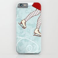 Ice Skating iPhone 6 Slim Case