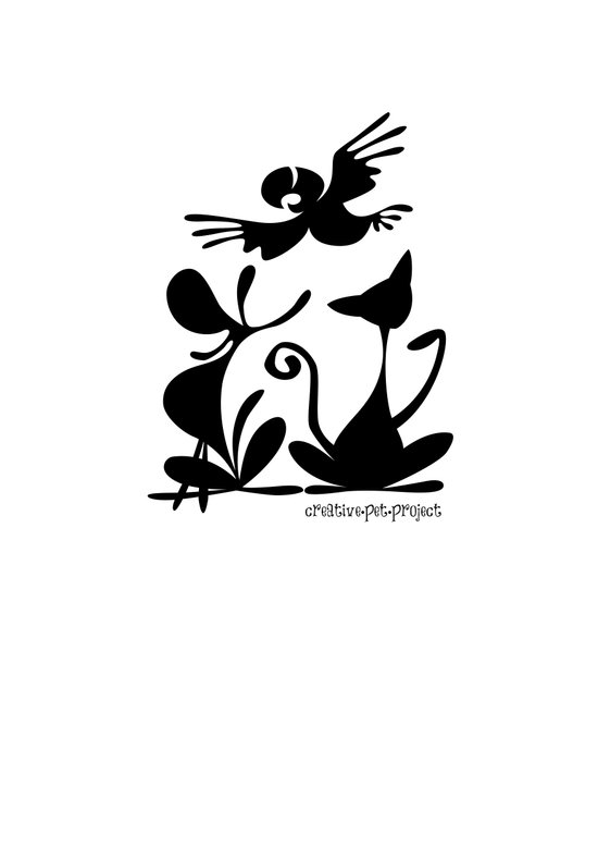 Pet Logo Art Print