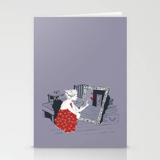 mirror Stationery Card