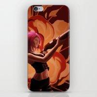 Steampunk Explosion iPhone & iPod Skin