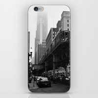 El On A Foggy Day Chicag… iPhone & iPod Skin