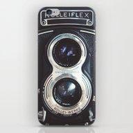 iPhone & iPod Skin featuring ROLLEIFLEX CAMERA by Mari