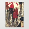 Bad weather (Mauvais temps) Canvas Print