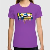 The Art Of Gaming Womens Fitted Tee Ultraviolet SMALL