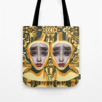 Pineapple By Alex Garant Tote Bag