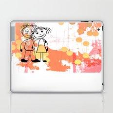 Beste Freunde - best friends Laptop & iPad Skin