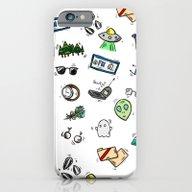 Spooky Doodles iPhone 6 Slim Case