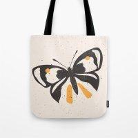 Gungry Butterflies Tote Bag