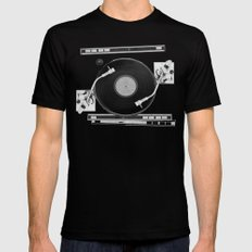 Both Sides of The Story Mens Fitted Tee Black SMALL