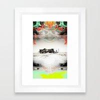 ALONG THE ROAD-VACANCY Z… Framed Art Print
