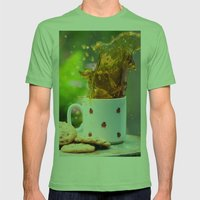 Cookie Splash Mens Fitted Tee Grass SMALL
