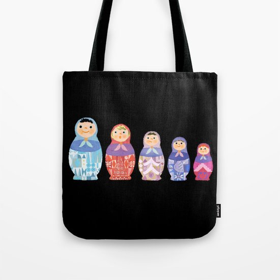 Small, Smaller, Smallest Tote Bag