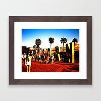 california adventuring Framed Art Print