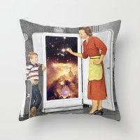 Stars for Breakfast Throw Pillow