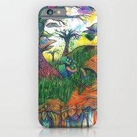 iPhone & iPod Case featuring old growth by Katie Owens