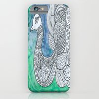 iPhone & iPod Case featuring Peacock by Ioana Stef