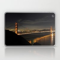 Golden Gate Bridge @ Night Laptop & iPad Skin