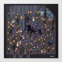 Super Aliens³ Resurrection Canvas Print