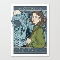 El Laberinto del Fauno (Pan's Labyrinth)  Canvas Print