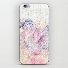 The Swan iPhone & iPod Skin