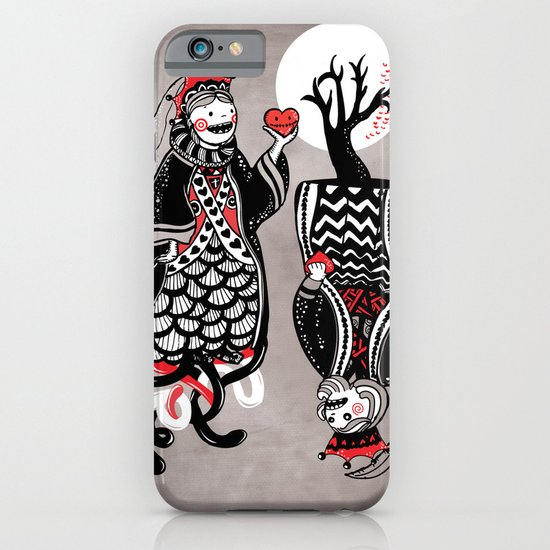 Queen and King of Hearts iPhone & iPod Case