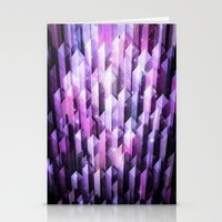 amethyst ascending Stationery Cards