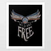 Peace Wings Art Print