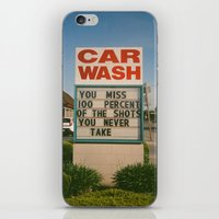 Car Wash  iPhone & iPod Skin