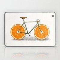 Zest (Orange Wheels) Laptop & iPad Skin