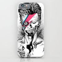 iPhone Cases featuring Zombowie by Daryll Peirce