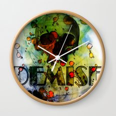Toxic Demise Wall Clock