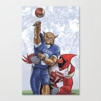 Wildcats versus Cardinals Canvas Print