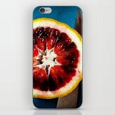 Blood Orange iPhone & iPod Skin