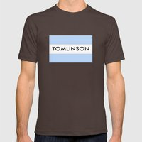 TOMlinson Mens Fitted Tee Brown SMALL