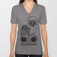 Silent Night ANALOG zine Unisex V-Neck