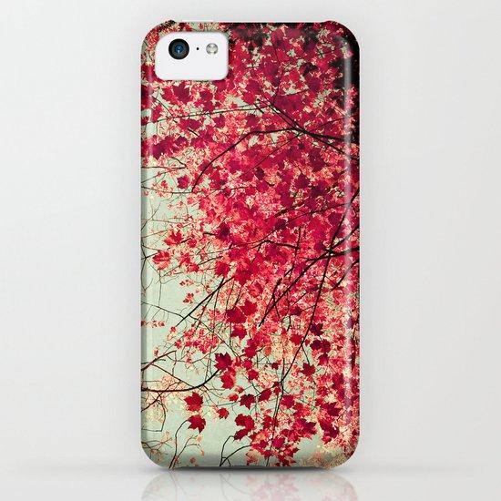 Autumn Inkblot iPhone & iPod Case