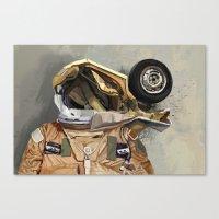 Motor Head Canvas Print