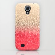 GOLD CORAL Galaxy S4 Slim Case